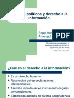 Partidos políticos y derecho a la información