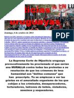 Noticias Uruguayas Domingo 6 de Octubre Del 2013