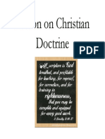 Lesson on Christian Doctrine