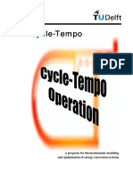 Cycle Tempo Operation