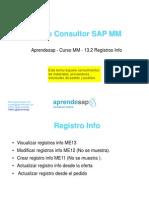 Aprendesap - Curso MM - 13.2 Registro Info
