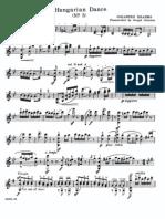 IMSLP42728-PMLP16016-Hungarian Dance n.5 Violin Part