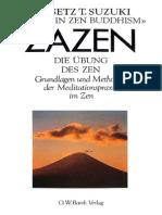 Daisetz T. Suzuki - Zazen - Die Übung des Zen