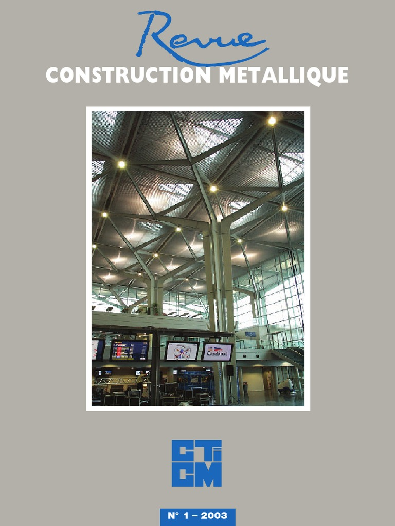 constructions mixtes acier beton conception et calcul des poutres mixtes des planchers de batiments courants dapres leurocode 4