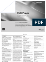 Samsung Dvd Player d360-02108a d360 Val Eng GRE
