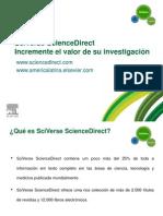 Informe Science Direct