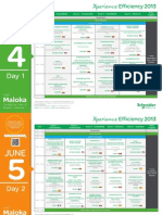 Agenda Xperience Efficiency 2013
