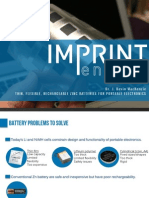 Imprint Energy Thin Battery Presentation Battery Show 2013