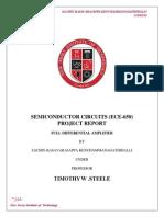 Final Project Report Sachin Basavarajappa Kenchammanagathihalli