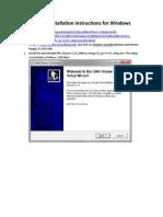Install Octave Windows