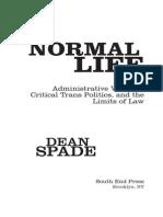 1.Dean Spade Normal Life 7-136