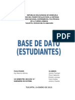 Base de Datos (Mauricio)
