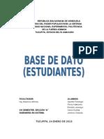 Base de Datos (Mauricio)