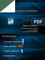 Bases de Datos I. Tema I. Conceptos Generales