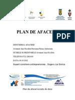 136312323 Plan de Afaceri Scoala de Dans Doc