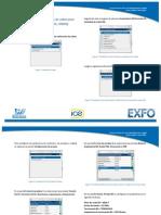 Configuración para pruebas de cobre para servicios xDSL