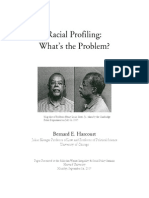 Harvard Report Racial Profiling