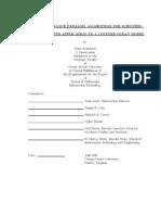 Ocean Model Performance Dissertation