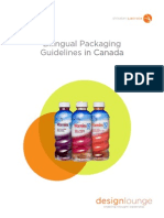 Bilingual Packaging Guidelines in Canada White Paper