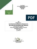 Contratos y Analisis Economico Del Derecho