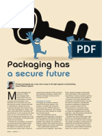 Packaging Has a Secure Future