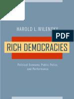 [Harold L. Wilensky] Rich Democracies Political E