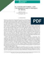 Nason, Shannon - Opposites, Contradictories, And Mediation in Kierkegaard's Critique of Hegel - The Heythrop Journal, Volume 53, Issue 1 (2012)