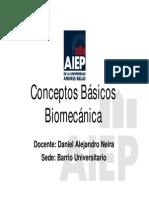 Biomecaenica Clase 2 d Neira Bus