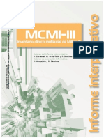 Informe Mcmi-III Caso Ilustrativo