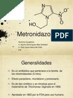 Inhibición del Metronidazol