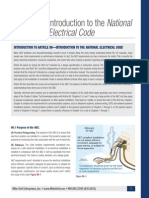 Introduction to the National Electrical Code