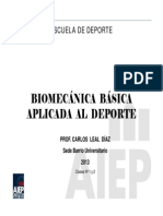 Biomecanica Clases 1 y 2 C Leal BUS