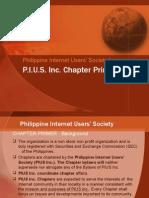 PIUS Inc. Chapter Primer