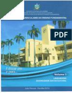 RCEF. Vol 1 -Linguagens e Diversidade Sociocultural
