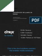 Citrix Virtualizacion Del Puesto de Trabajo
