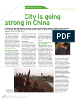 Green City is Going Strong in China