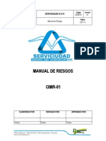 Cimr-01 Manual de Riesgos Revisar