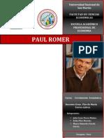 Grupo 2 - Paul Romer