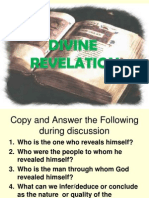 11 Divine Revelation