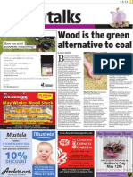 Wood is the green alternative to coal