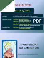 (2) Dr. Poernomo Rev-Pemberian CPAP Dan Surfaktan Dini