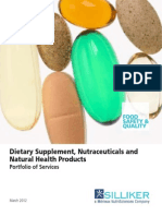 Dietary Supplement Nutraceuticals and Natural Health Products