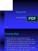 Trans Cad Creating Maps