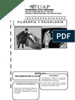 TEMA 4 INFLUENCIA DE LA FILOSOFÍA EN LA PSICOLOGÍA