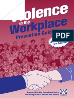 Workplace Violence Prevention Guide