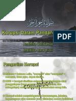 Korupsi Dalam Pandangan Islam