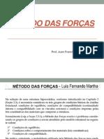 AULAS METODO DAS FORÇAS