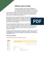 Acerca de AdSense Para Tu Blog