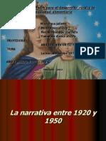 La Narrativa Entre 1920 y 1950 Terminada