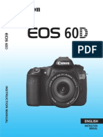 EOS 60D Instruction Manual En